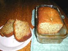 Pot Banana Bread Photo