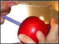 Learn to build an apple pipe.