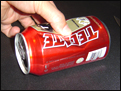 learn how to make a can pipe for smoking weed